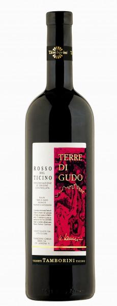 Terre di Gudo Rosso, Merlot del Ticino DOC 2015