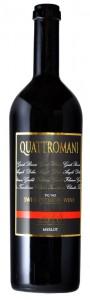 Quattromani Merlot del Ticino doc 900 cl