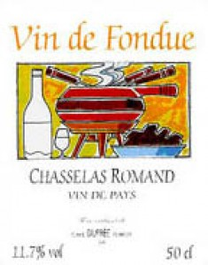 Chasselas Romand VdP 50cl
