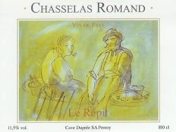 """Chasselas Romand VDP """"Le Répit"""", 100cl"""