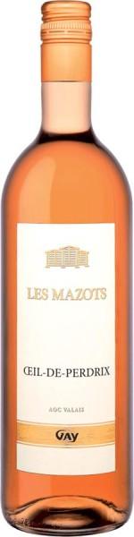 """Oeil-de-Perdrix Valais AOC """"Les Mazots"""""""