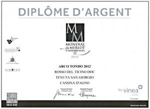 Arco Tondo Riserva Rosso del Ticino DOC 2016