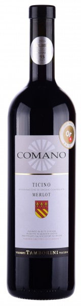 Comano Riserva Ticino DOC Barrique 2015, 92 Punkte von Robert Parker