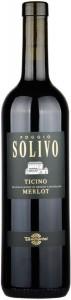 Poggio Solivo Viti Merlot del Ticino DOC 37,5cl