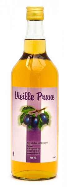 Vieille Prune Goldmedaille DistiSuisse 2015